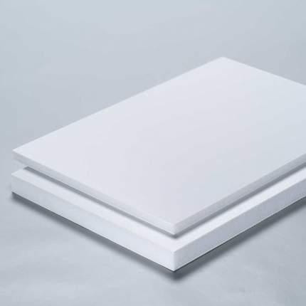 detalle de material foam o cartón pluma rígido para impresión
