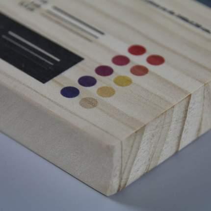 Impresión digital sobre madera natural de pino