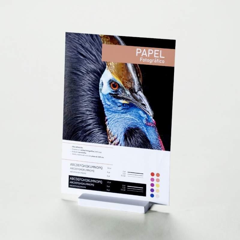 impresión en papel fotográfico