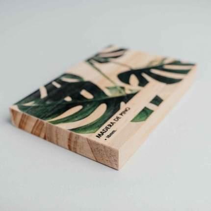 madera de pino impresa