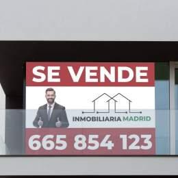 carteles baratos para inmobiliaria