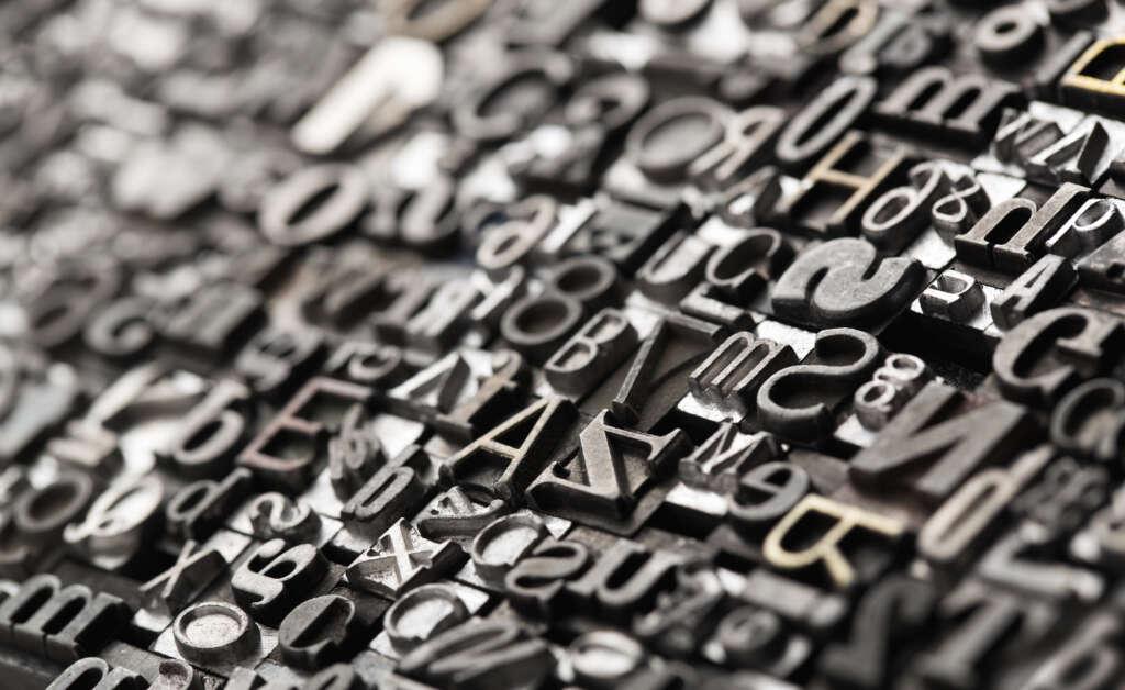 Escoge la tipografía que mejor se adapte a tus carteles publicitarios