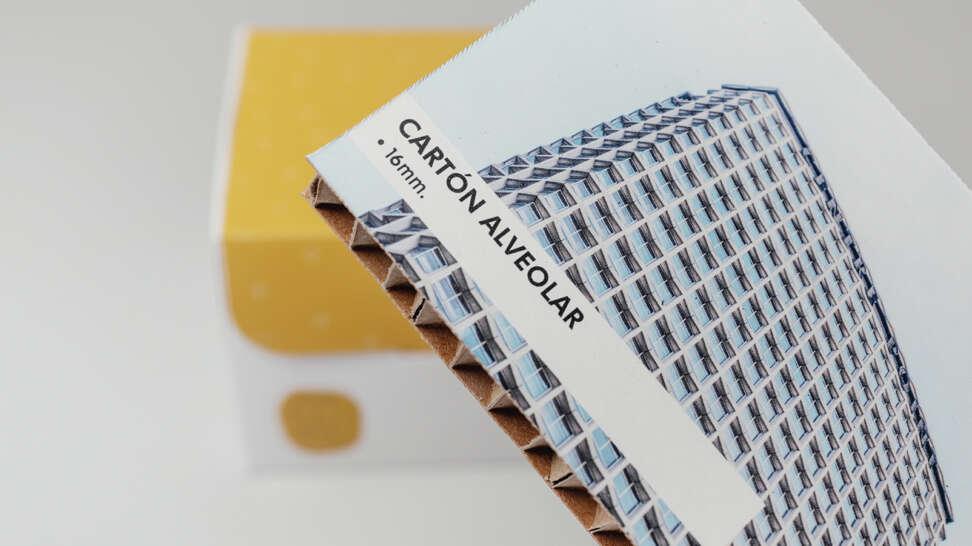Ejemplo de impresión en cartón