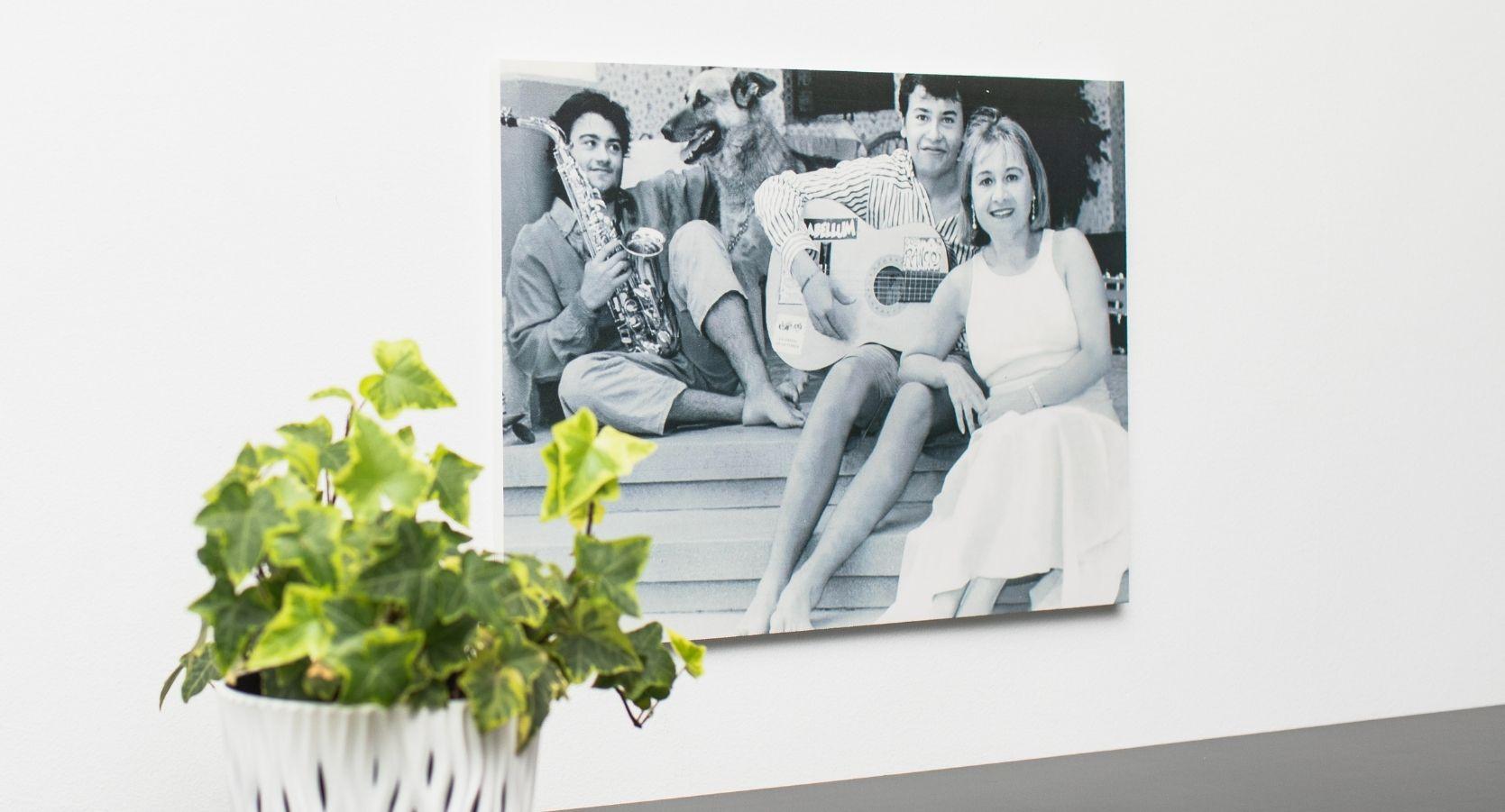 foto impresa en carton pluma