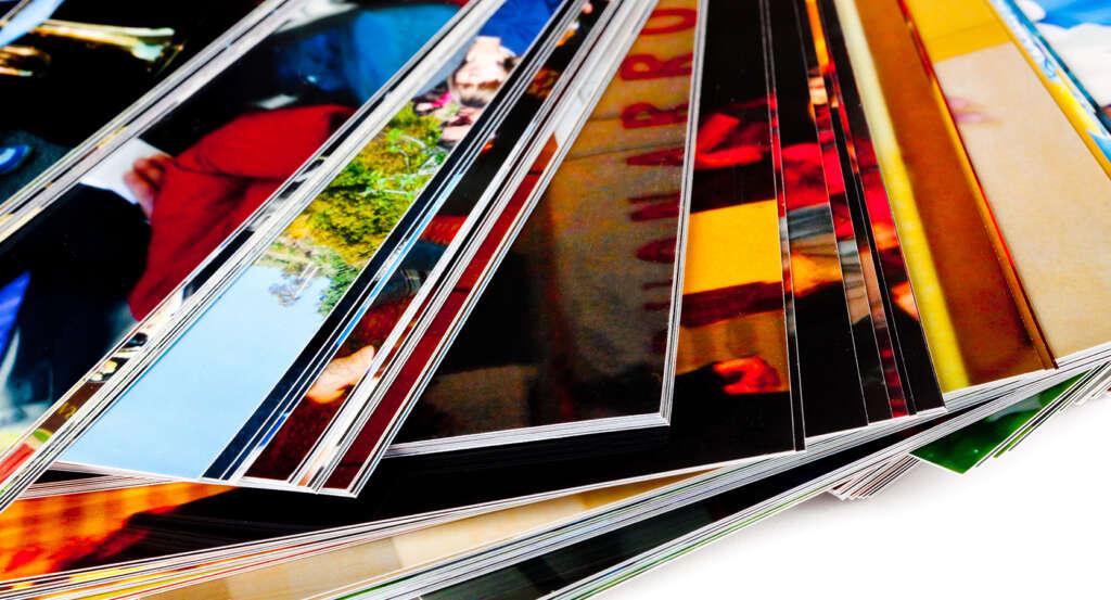 Fotos impresas en papel fotográfico