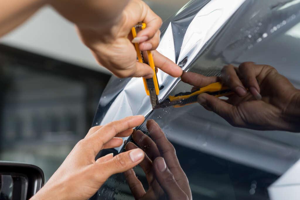 vinilo fundicion para vehiculos