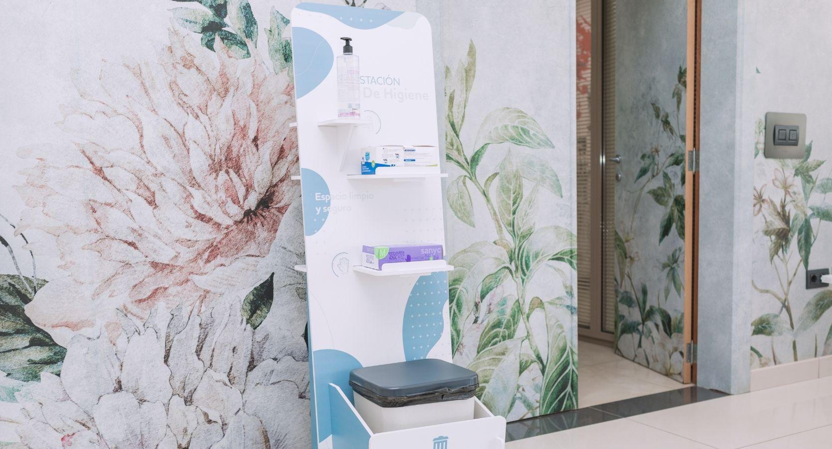 estación de higiene personalizada