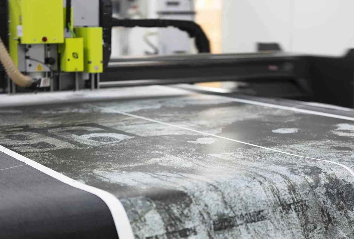 Corte de material flexible Hispaprint