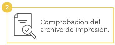 Comprobación archivo impresión Hispaprint